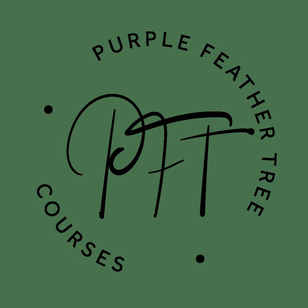 Purple Feather Tree