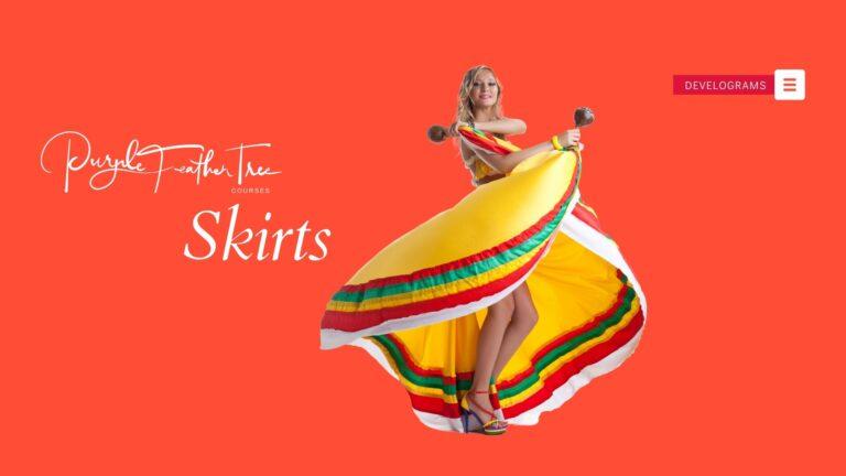 right length of skirt or dress
